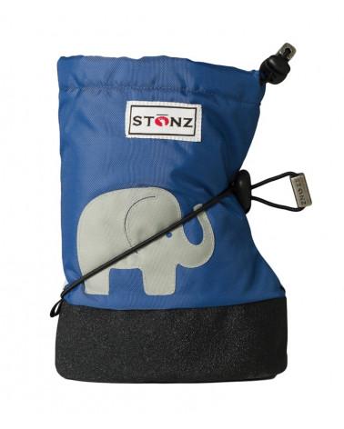 BUTY DLA NOWORODKÓW I NIEMOWLĄT Baby Booties - Elephant Slate Blue Baby Booties Stonz®