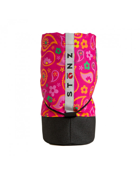 Sold Out          BUTY DLA NOWORODKÓW I NIEMOWLĄT Baby Booties - Paisley Pink Baby Booties Stonz®