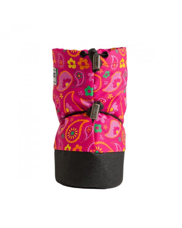 BUTY DLA NOWORODKÓW I NIEMOWLĄT Baby Booties - Paisley Pink Baby Booties Stonz®