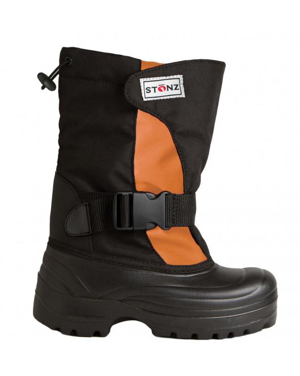 DZIECIĘCE BUTY ZIMOWE TREK - Orange Black Trek Stonz®