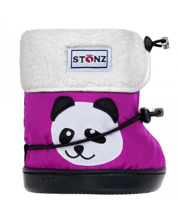 DZIECIĘCE BUTY Toddler Booties - Panda Magenta Toddler Booties Stonz®
