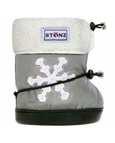DZIECIĘCE BUTY Toddler Booties - Snowflake Toddler Booties Stonz®
