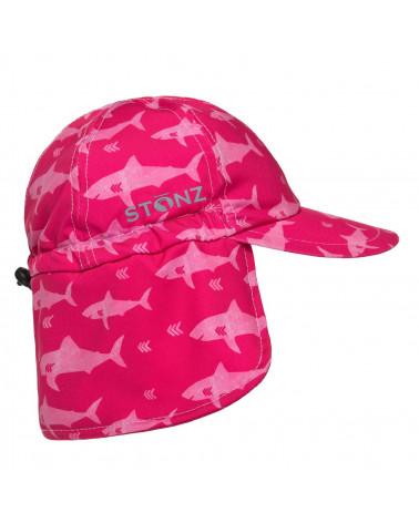 Czapka z filtrem UPF 50 - Fuchsia Shark Czapki & Kapelusze Stonz®
