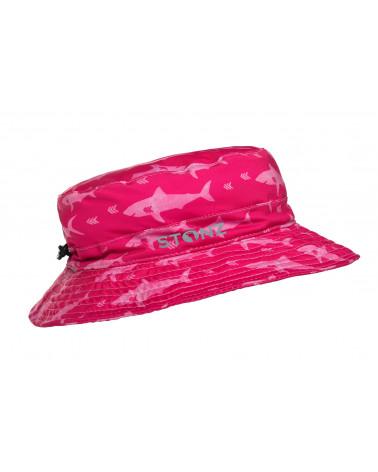 Kapelusz z filtrem UPF 50 - Fuchsia Shark Czapki & Kapelusze Stonz®