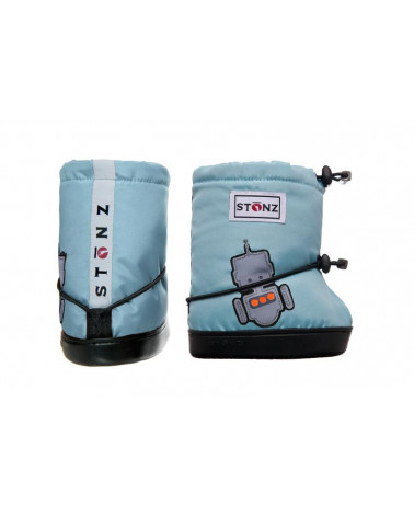 DZIECIĘCE BUTY Toddler Booties - Robot Toddler Booties Stonz®