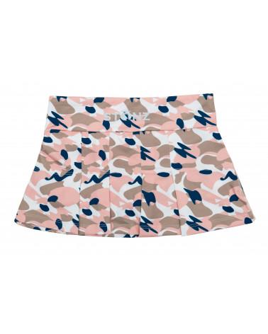 Spódniczka plażowo - kąpielowa z filtrem UPF 50 - Camo Pink Spódniczki Stonz®