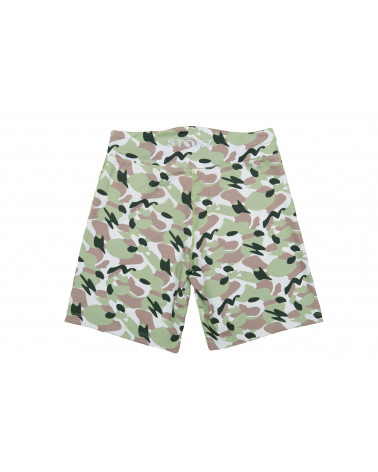 Szorty plażowo - kąpielowe z filtrem UPF 50 - Camo Green Szorty Stonz®