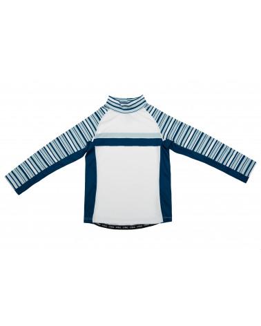 Koszulka plażowo-kąpielowa z filtrem UPF 50 - Lake Time Navy Top dziecięcy Stonz®