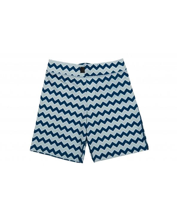Szorty plażowo - kąpielowe z filtrem UPF 50 - Lake Time Navy Szorty Stonz®