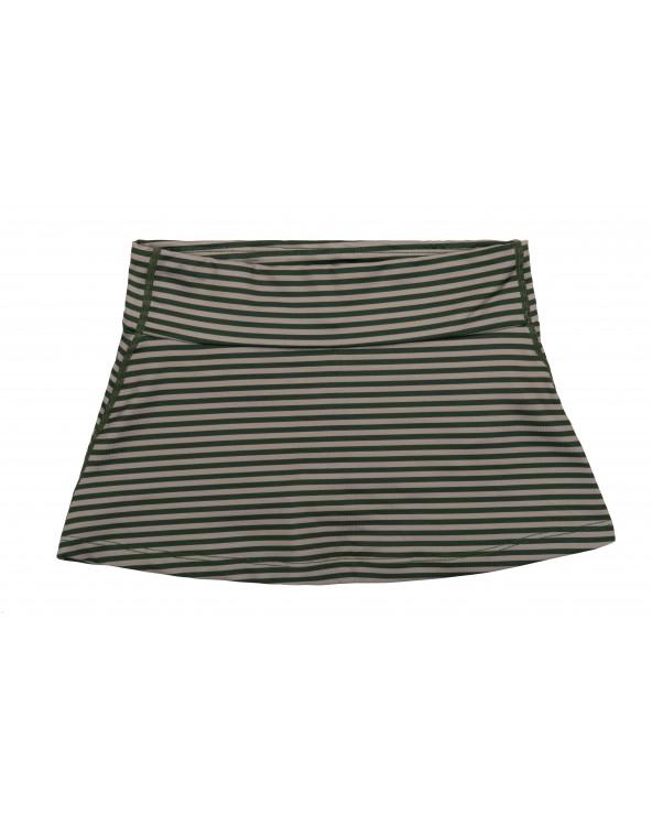 Spódniczka plażowo - kąpielowa z filtrem UPF 50 - Forest Trail Stripes Spódniczki Stonz®