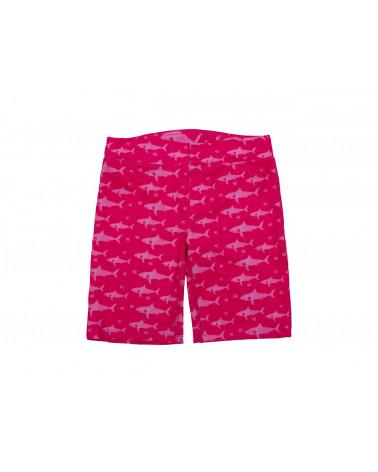 Szorty plażowo - kąpielowe z filtrem UPF 50 - Fuchsia Shark Szorty UPF 50 Stonz®