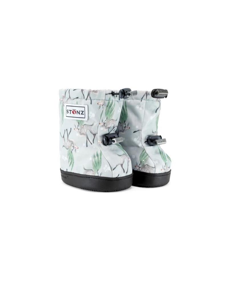 DZIECIĘCE BUTY Toddler Booties – Magic Deer Green Toddler Booties Stonz®