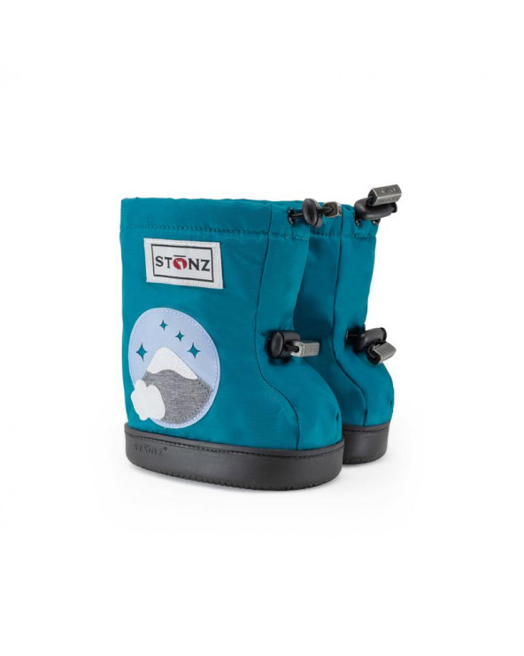 Sold Out          DZIECIĘCE BUTY Toddler Booties – Mountain Teal Toddler Booties Stonz®