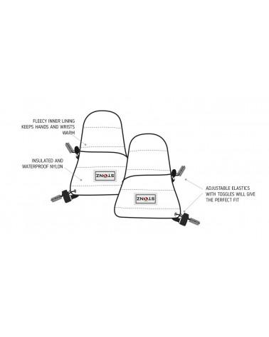 Sold Out          RĘKAWICZKI BABY MITTZ - Grey Rękawiczki Stonz®