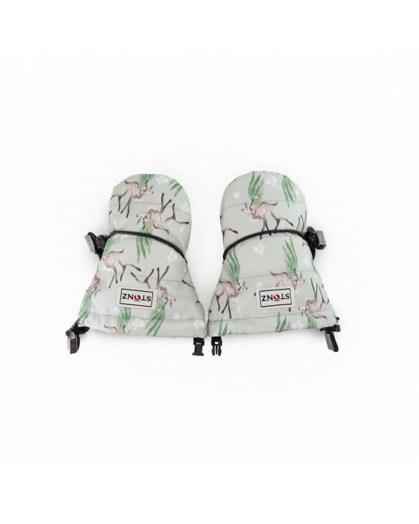 RĘKAWICZKI BABY MITTZ - Magic Deer Green Rękawiczki Stonz®