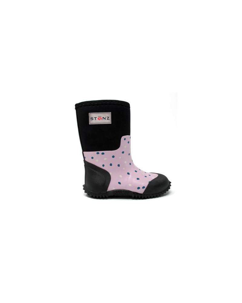 DZIECIĘCE BUTY NEOPRENOWE WEST - Pink Snow Buty wielosezonowe West Stonz®