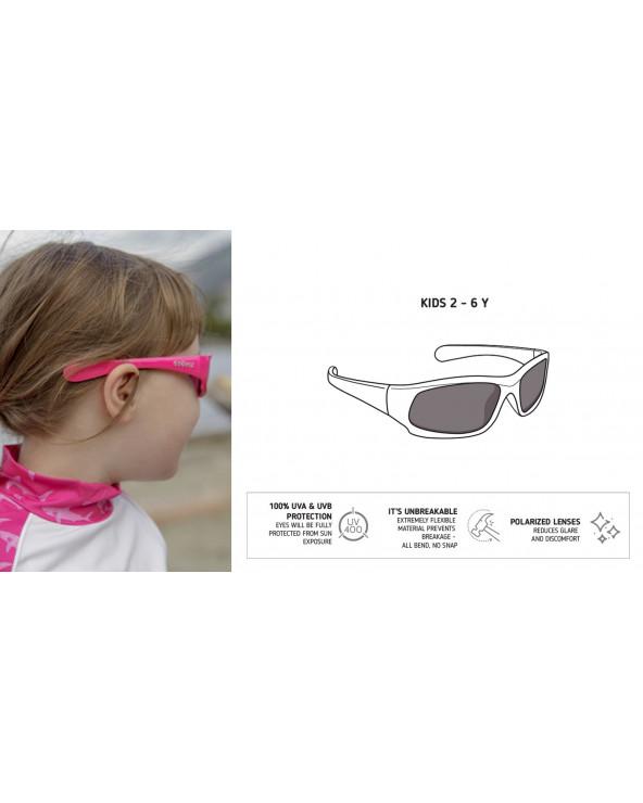 DZIECIĘCE OKULARY PRZECIWSŁONECZNE UV400 - Fuchsia Okulary przeciwsłoneczne Stonz®