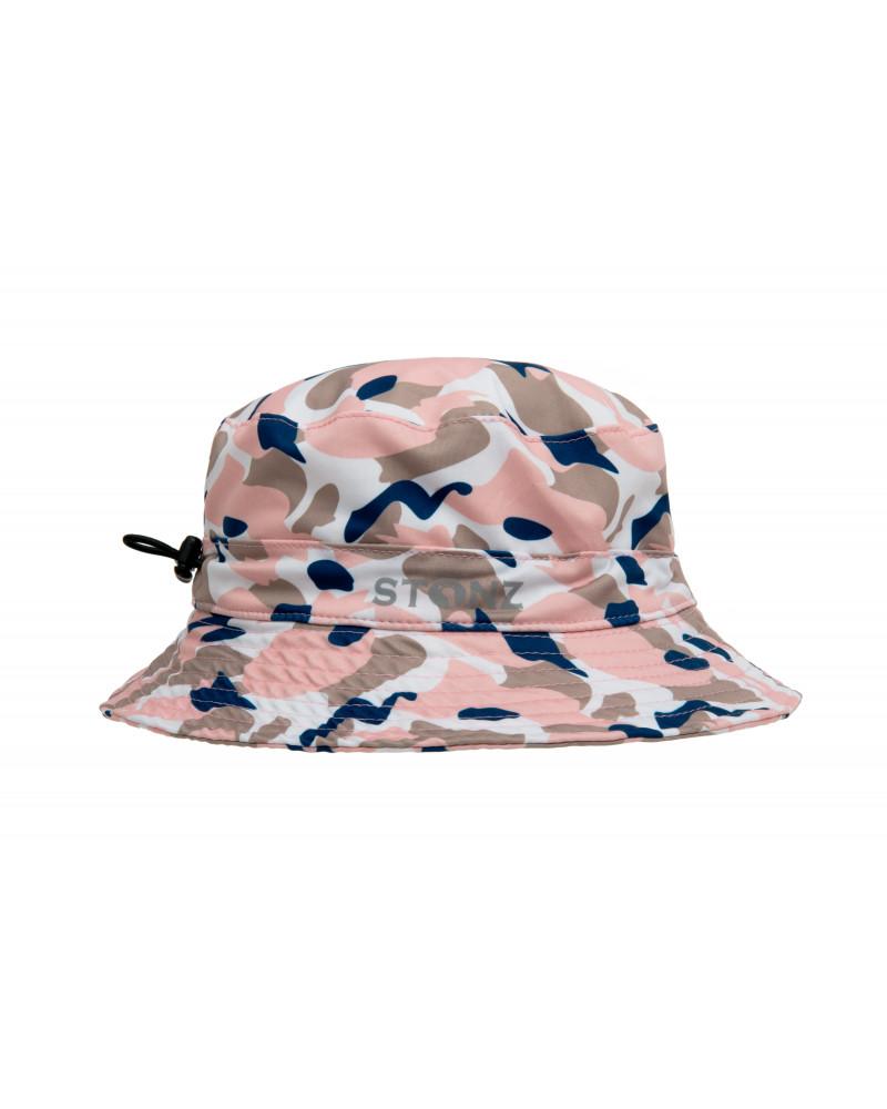 Kapelusz z filtrem UPF 50 - Camo Pink Czapki & Kapelusze Stonz®