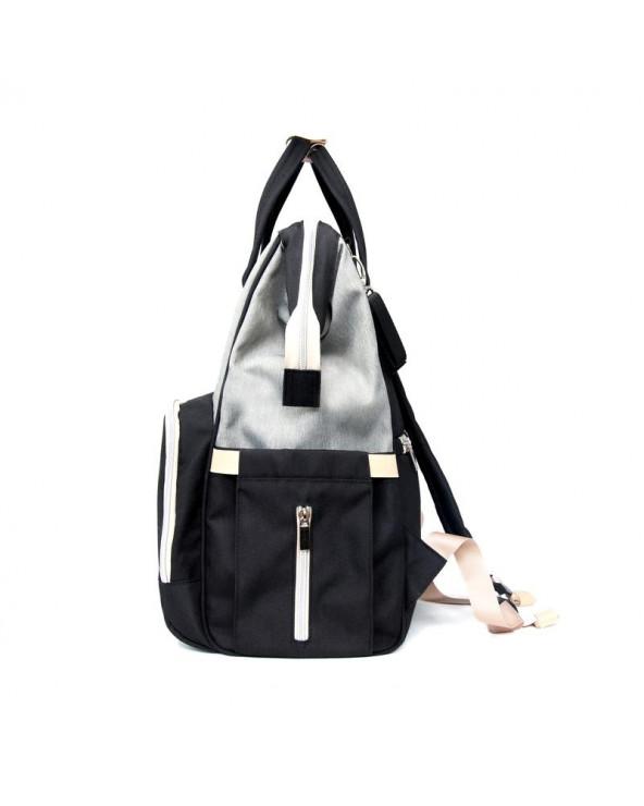 PLECAK DLA MAMY URBAN BACKPACK - grey/black Plecak dla mamy Stonz®
