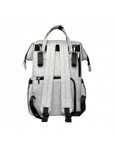 PLECAK DLA MAMY URBAN BACKPACK - classic grey Plecak dla mamy Stonz®