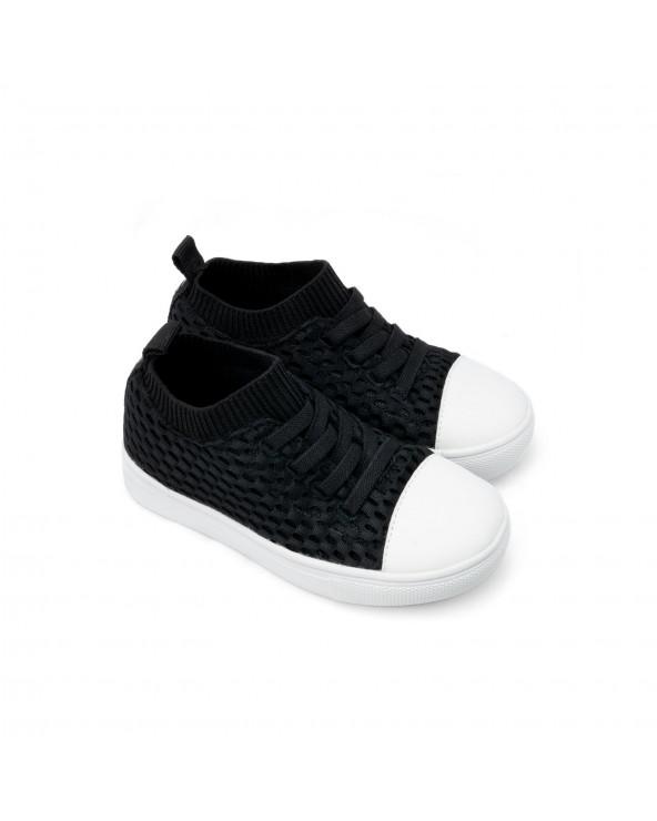 "TRAMPKI DZIECIĘCE ""SHORELINE"" - Black Sneakers Shoreline Stonz®"