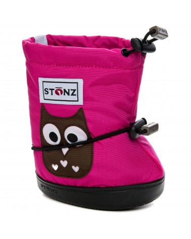 STONZ booties - Polka Dot - Brown