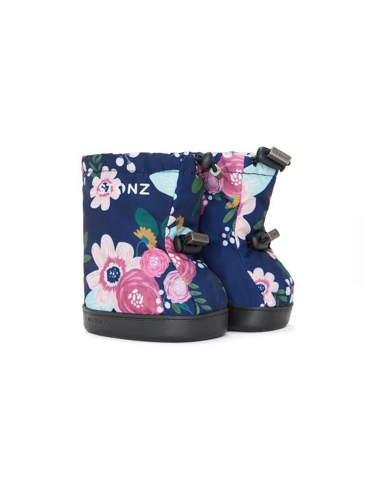 DZIECIĘCE BUTY Toddler Booties – Wildflower Navy Toddler Booties Stonz®