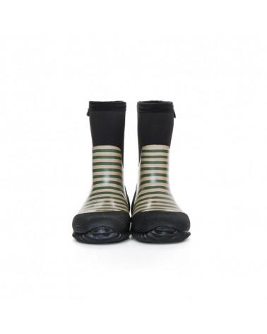 DZIECIĘCE BUTY NEOPRENOWE WEST - Stripes Cypress & Sage Buty wielosezonowe West Stonz®