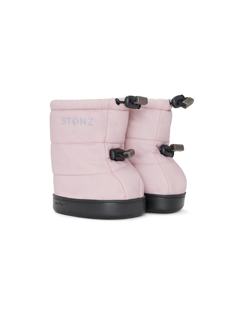 DZIECIĘCE BUTY Toddler Puffer Booties – Haze Pink Toddler Booties Stonz®