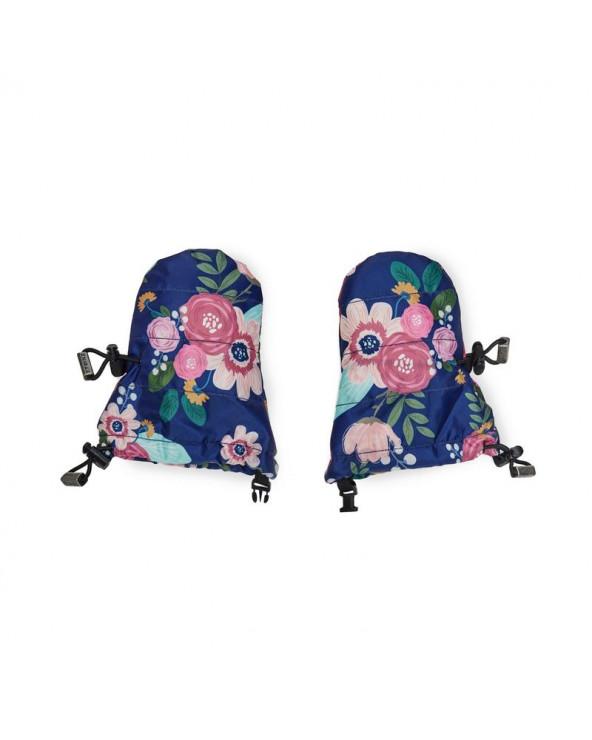 RĘKAWICZKI BABY MITTZ - Wildflower Navy Rękawiczki Stonz®